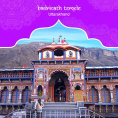 The Badrinath Temple in Uttarakhand is one of the Char Dham temples. Dedicated to Lord Vishnu, this divine abode houses a self-manifested idol of the Lord. This sacred shrine was built by Adi Shankaracharya. #PurePractices