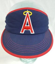 info for 5f866 0f1bb Vintage Hats, Us Shipping, My Etsy Shop, Angels, Los Angeles, Ready To  Wear, Sports, Check, Stains