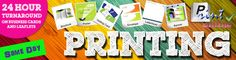 Need a print job quickly? Sometimes you need business cards, leaflets, posters, presentations folders, banners printed really quickly – we can help with that. Last minute meeting and you're out of business cards? Come in and see us for fast and same day printing.  We also have our own large format printer and can print really big posters or banners within 24 hours. We can often print while you wait, or you can leave your job with us and grab a coffee for an hour or two