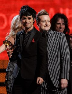 Green Day, Best Rock Album - 52nd Annual GRAMMY Awards held at Staples Center on January 31, 2010 in Los Angeles, California.