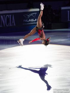 Surya Bonaly - The only person ever to backflip & land on one blade. ~3 male skaters were doing backflips in competition, but they were made illegal due to danger + requirement that all jumps be landed on one blade. Bonaly did her amazing move at the '98 Olympics (technically legal since she landed on the one blade). The white, male judges still low scored her. In summary, she's awesome!