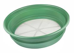 SE GP2-150 Patented Stackable 13-1/4' Sifting Pan, Mesh Size 1/50' * You can get more details by clicking on the image.