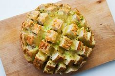 Cheesy pull bread - I will leave out the jalapeno!~