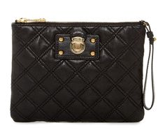Marc Jacobs New The Social Quilted Leather C3113407 Black Wristlet. Get the trendiest Clutch of the season! The Marc Jacobs New The Social Quilted Leather C3113407 Black Wristlet is a top 10 member favorite on Tradesy. Save on yours before they are sold out!