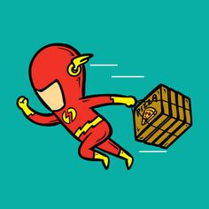 #Illustration #SuperHeroes #TheFlash