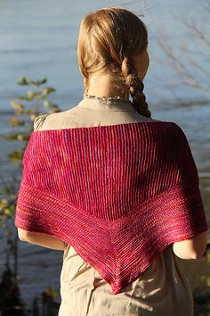 The first in a series of shawls exploring nontraditional shaping with short rows, available individually or as part of the Five Short Row Shawls collection.