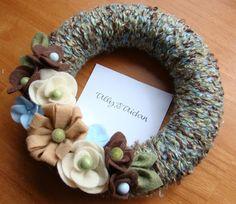 Really cute DIY wreath