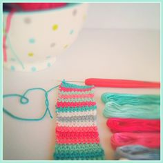 Why just wear ordinary flip flops when you can wear FABULOUS flip flops that are uniquely you. This is a great stash buster project that uses the tiniest bits of yarn and can be done in an afternoo… Easy Crochet Stitches, Operation Christmas Child, Modern Crochet, Crochet Shoes, Flipping, Cosmetic Bag, Flip Flops, Projects To Try, Boho