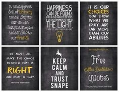 Some of my favorite HP quotes