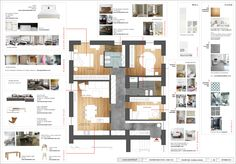 project_Apartment renovation in Rome, Italy Apartment Renovation, Rome Italy, Proposal, Architects, Floor Plans, Flooring, How To Plan, Creative, Wall