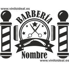 VINILO DECORATIVO ADHESIVO BARBERÍA Jeans Hair Style, Barber Logo, Branding Design, Logo Design, Skull Artwork, Window Art, Stencils, Infinity Mirror, Brick Wall Background