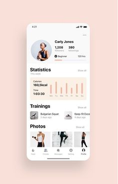 Super Woman Fitness App UI Kit UI Place - UI Kits - Ideas of UI Kits #UIKits - Super Woman Fitness App UI Kit is a pack of delicate Fitness screen templates and set of UI elements that will help you to design clear interfaces for iOS mobile app faster and easier. File includes all recent Sketch App features such as Symbols or Components Overrides Resize Options Text and Layer Styles. #webdesign Web And App Design, Ui Ux Design, Game Design, Application Ui Design, Design Responsive, Web Design Trends, Design Websites, Dashboard Design, User Interface Design