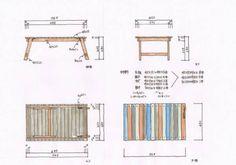 今回は先日行ったworkshopでのウッドテーブルの作り方を簡単に解説いたします。ホームセンターにあるSPF材でとても簡単に出来ますが、ホームセンターによっては同じ材料が無いので、図面を見ながらサイズを変えて作ってくださいね。SPFも塗っちゃえばかっこよくなります。軽いのでキャンプにはもってこいだと思いますよ。詳細図サイズはご覧のようにコンパクトサイズです。板を一色に塗るもよし、いろんな色に塗るもよし、布を仕込んでもよし、お好きにどうぞ。ビスをデッキ用の35ミリの四角ビットで止めています。その方が見慣れない良さがあるでしょう?ただ高いので、普通のビスでも全然オッケーです。脚はミニ蝶番で止まっています。蝶番で止める理由は、足の長さが一定であれば長さに変わりがないからです。「?」でしょうか?販売されているのは横から...木製キャンプアウトドアテーブルDIY Bbq Table, Camping Table, Diy Camping, Camping Furniture, Cool Furniture, Outdoor Tools, Diy Organization, Wardrobe Rack, Diy And Crafts