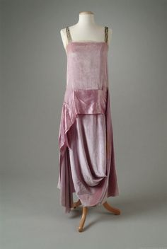 Evening Dress Callot Soeurs, 1921 The Meadow Brook Hall Historic Costume Collection