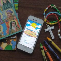 Look to Him and be Radiant: Little Saint Adventures! Catholic Kids App- Adventures in learning about the Bible, Saints, Sacraments, and more!