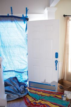 she has some good tips for how to paint your front door