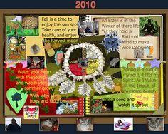 Medicine wheel collage