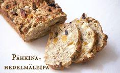Pähkinä-hedelmäleipä Banana Bread, Delish, Rolls, Desserts, Food, Tailgate Desserts, Deserts, Buns, Essen