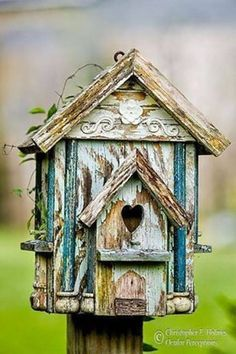 9 Fabulously Rustic Birdhouses