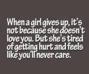 when she gives up on you - Google Search
