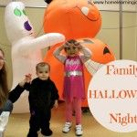 Family Halloween Night    My family had a ton of fun at Family Halloween Night.  This post shows images of some of the games we enjoyed for ideas to re-create in the future at home!