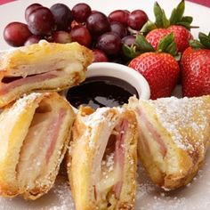 Monte Cristo Sandwiches like from Bennigan's.This is one of my favorite foods.Ever!