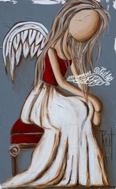 Beautiful angel pictures, angel crafts, angel art, pictures to paint, pencil drawings Stone Painting, Painting & Drawing, I Believe In Angels, Angel Crafts, Angel Pictures, Pictures To Paint, Art Pictures, Angel Art, Painting Inspiration