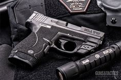 Jody Lewis talks upgrades for the Smith & Wesson M&P Shield. Smith And Wesson Shield, Smith N Wesson, S&w Shield 9mm, M&p 9mm, Custom Guns, Cool Guns, Awesome Guns, Guns And Ammo, Tactical Gear