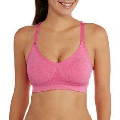 9b60328a9d6f9 Danskin Now - Women s Active Seamless Mesh Back Cami Bra - Walmart.com