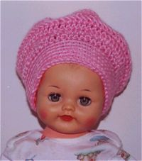 I HAVE TO do this one for Adalyn.  This is exactly the kind of hat that my Grandma Rose used to wear.