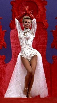 Vera Ellen in 'White Christmas', 1954. She battled anorexia; it cut her dancing career short.
