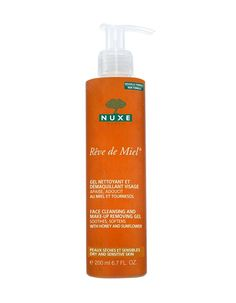 Nuxe Reve De Miel Gel Nettoyant Et Démaquillant This delicious amber NUXE Reve de Miel Gel Nettoyant et Demaquillant Visage Face Cleansing and MakeUp Removing Gel cleans the skin and removes makeup in a single step, while its ultra soft surfactants http://www.MightGet.com/january-2017-11/nuxe-reve-de-miel-gel-nettoyant-et-dã©maquillant.asp