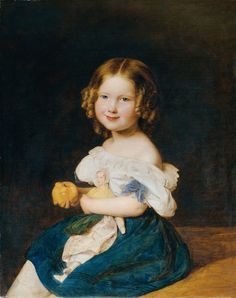 Ferdinand Georg Waldmüller | The Daughter of Johann and Magdalena Werner (1835) | Artsy