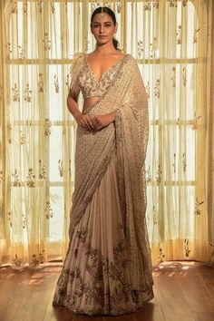 Indian Designer Sarees, Indian Sarees Online, Indian Fashion Designers, Designer Sarees Online, Indian Gowns, Indian Wear, Desi Wear, Saree Trends, Traditional Sarees