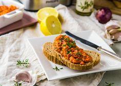 Nátierka na Ajvar štýl (vegan) - TheTolerantCook.com Vegan, Cooking, Food, Baking Center, Koken, Meals, Yemek, Cook, Eten