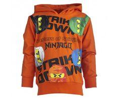 Lego Wear Storm Ninjago Orange Sweatshirt - £42.99
