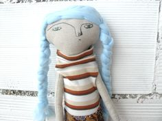 Muñeca Maira de algodón / 44 cm / de AntonAntonThings en Etsy