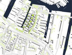 Image 12 of 21 from gallery of Kaufhauskanal Metrozone / BIG + site plan Masterplan Architecture, Landscape Architecture, Landscape Design, Plot Plan, Urban Design Plan, Architecture Graphics, Master Plan, Urban Planning, Site Design