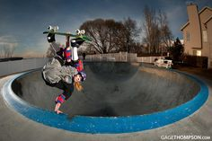 Frontside Invert by Gage Thompson on #500px - #sports #skate #bowl #photography