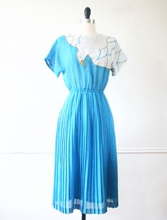 Dear Seabird Japanese Vintage Dress https://www.etsy.com/listing/154213947/japanese-vintage-dress-cyan-aqua-blue?ref=shop_home_active