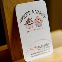 Business Card for: Sweet Annie | The Best of Business Card Design