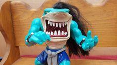 VINTAGE  Street Shark Action Figure 1995  ROX Punk Rock Mohawk Hair #STREETWISE