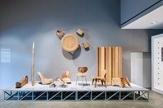 A room filled with furniture experimentations and an exhibition designed for children feature in an Eames retrospective on show at the Vitra Design Museum. Alexander Girard, Vitra Design Museum, Charles Eames, Ray Charles, Frank Gehry, George Nelson, Victor Papanek, Disneyland, Retail Fixtures