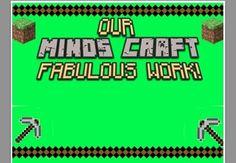 Minecraft Bulletin Board Set - Student Work Display