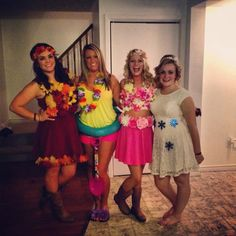 The four seasons Halloween costume