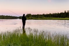 8 ideas to see the Midnight Sun in Finnish Lapland - R. Sun Photo, Midnight Sun, Natural Beauty, Paradise, Spaces, Beach, Water, Photography, Outdoor
