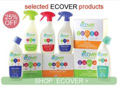 Ecover Cleaning Products - 25% Off - https://ethicalrevolution.co.uk/ecover-cleaning-products-25-off/  @goodnessdirect @ecoveruk