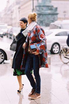 Vanessa Jackman: Paris Fashion Week AW 2014....In the Rain