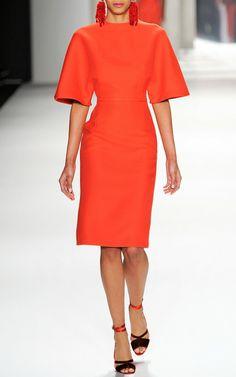 Wool Dress by Carolina Herrera
