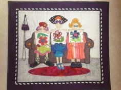 made from Amy Bradley Designs 1 little 2 little 3 little quilters pattern